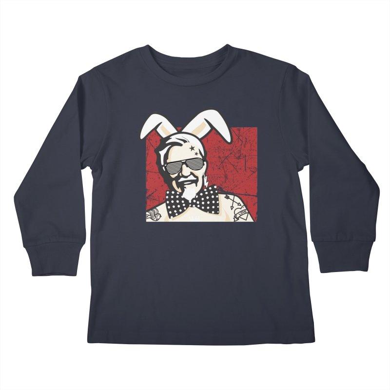 Rocking Mr.Sanders Kids Longsleeve T-Shirt by Stor's Artist Shop