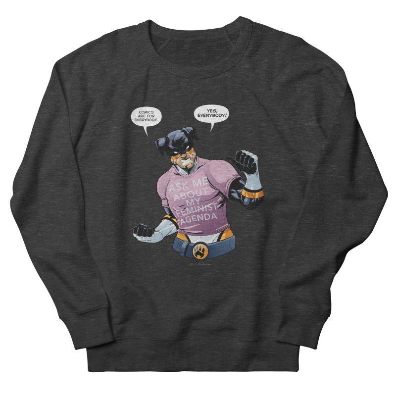 Stray - Feminist Agenda Women's Sweatshirt by Delsante & Izaakse's STRAY Comic