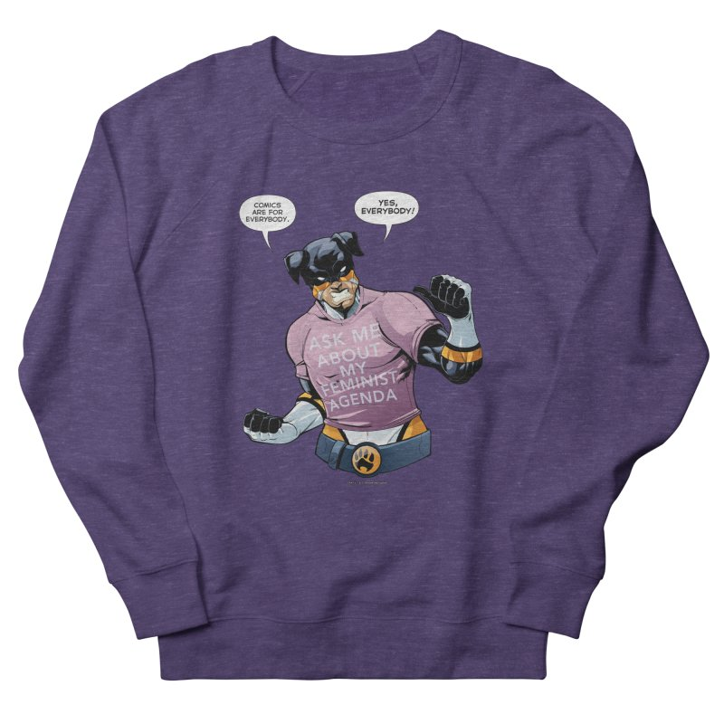 Stray - Feminist Agenda Men's Sweatshirt by Delsante & Izaakse's STRAY Comic
