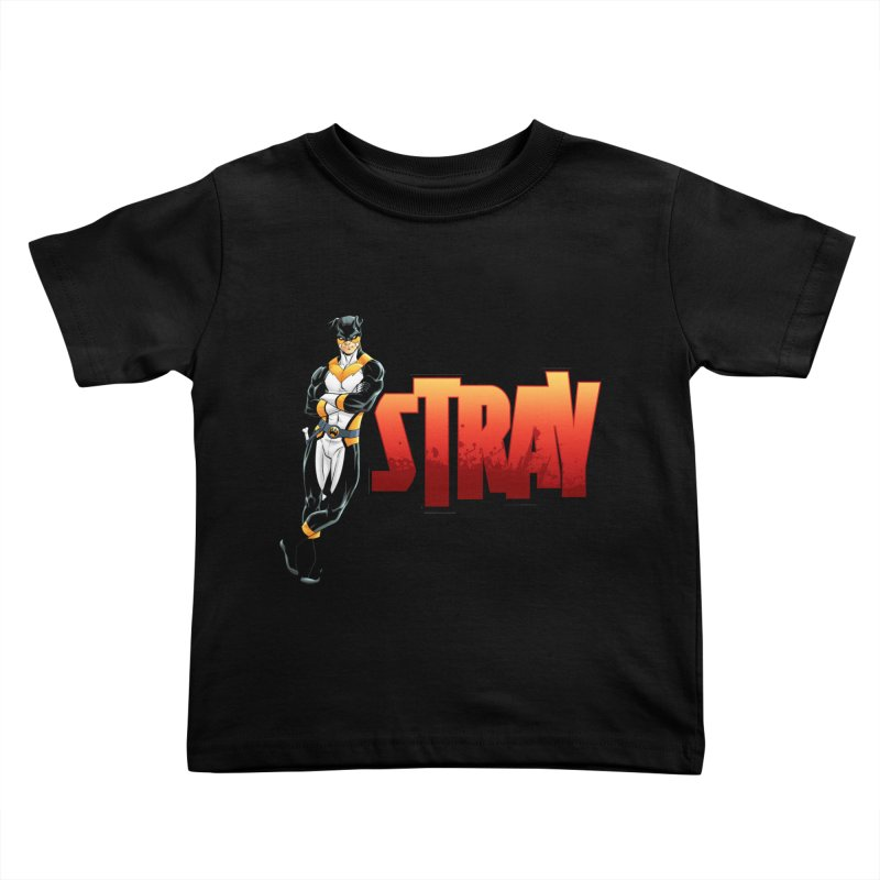 Stray - Chill Kids Toddler T-Shirt by Delsante & Izaakse's STRAY Comic