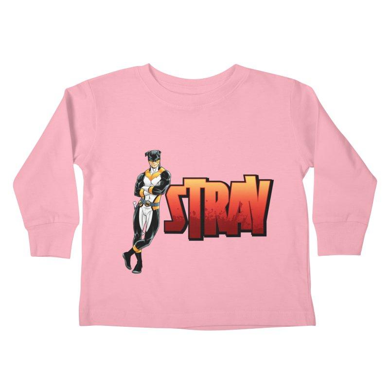 Stray - Chill Kids Toddler Longsleeve T-Shirt by Delsante & Izaakse's STRAY Comic