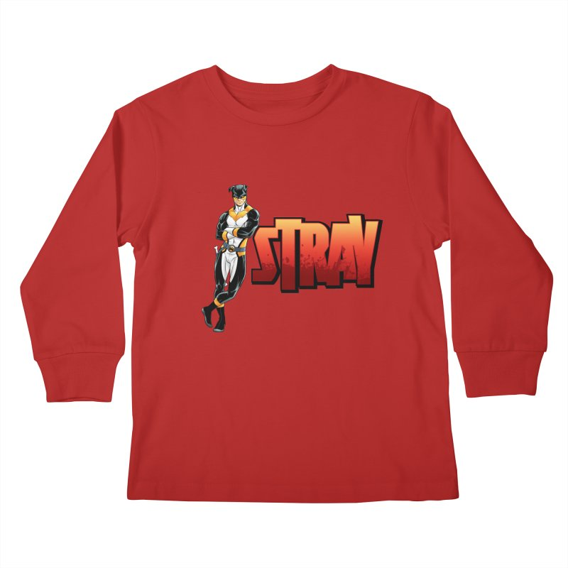 Stray - Chill Kids Longsleeve T-Shirt by Delsante & Izaakse's STRAY Comic