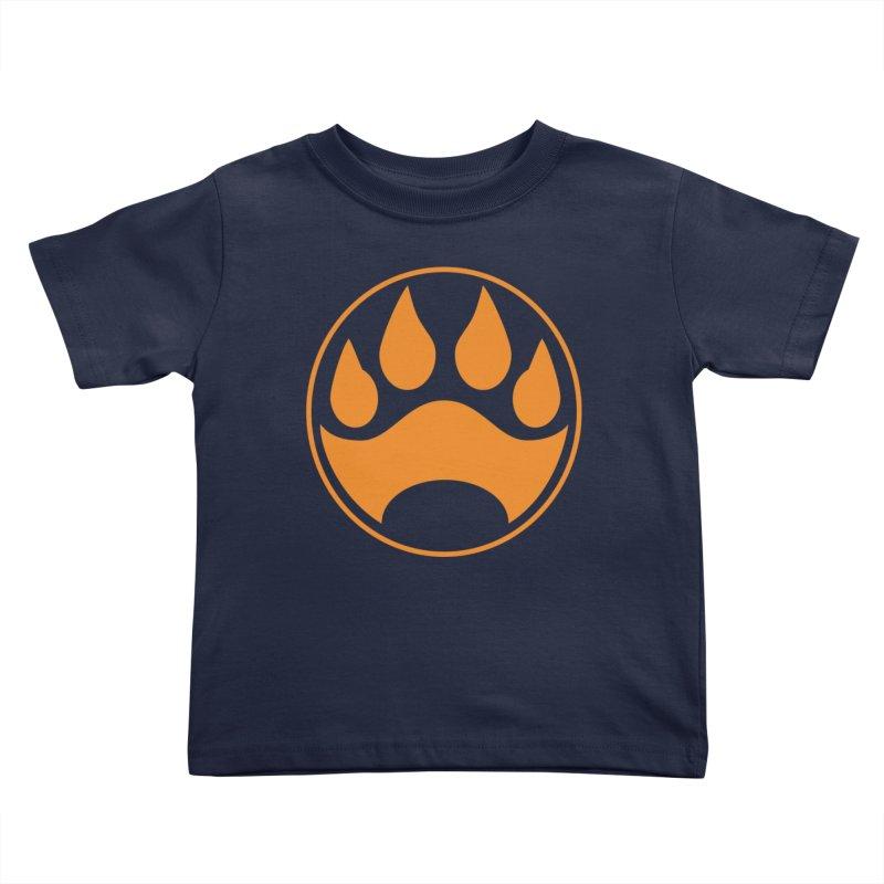 Stray - Orange Shield Kids Toddler T-Shirt by Delsante & Izaakse's STRAY Comic