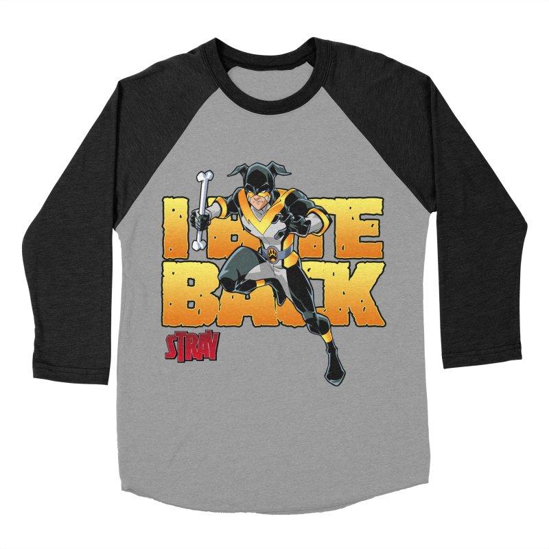 Stray - I Bite Back! Women's Baseball Triblend T-Shirt by Delsante & Izaakse's STRAY Comic