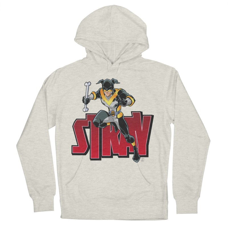 Stray - Action Logo Women's Pullover Hoody by Delsante & Izaakse's STRAY Comic