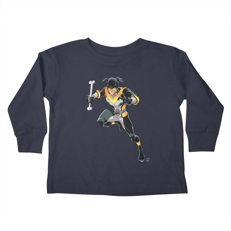 Stray - Solo Kids Toddler Longsleeve T-Shirt by Delsante & Izaakse's STRAY Comic