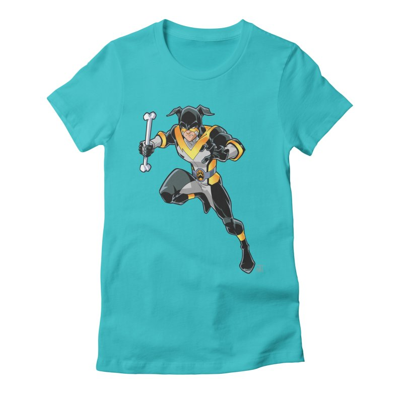 Stray - Solo Women's Fitted T-Shirt by Delsante & Izaakse's STRAY Comic