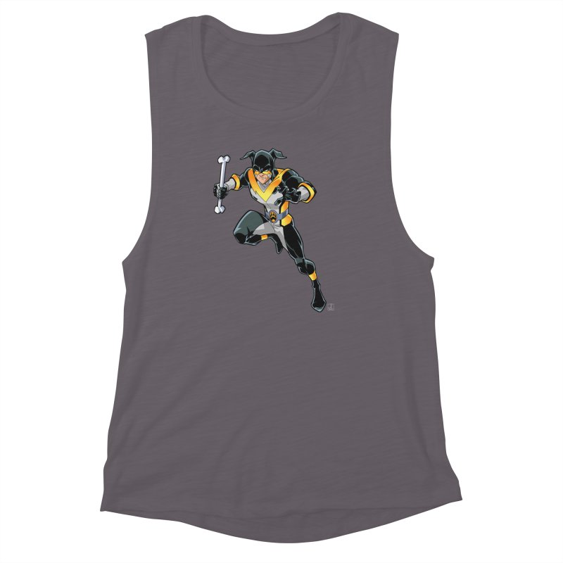 Stray - Solo Women's Muscle Tank by Delsante & Izaakse's STRAY Comic