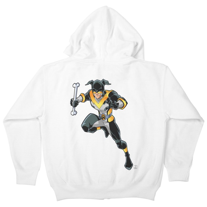 Stray - Solo Kids Zip-Up Hoody by Delsante & Izaakse's STRAY Comic