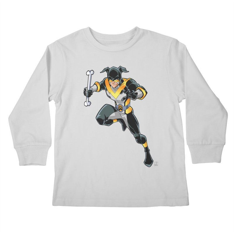 Stray - Solo Kids Longsleeve T-Shirt by Delsante & Izaakse's STRAY Comic