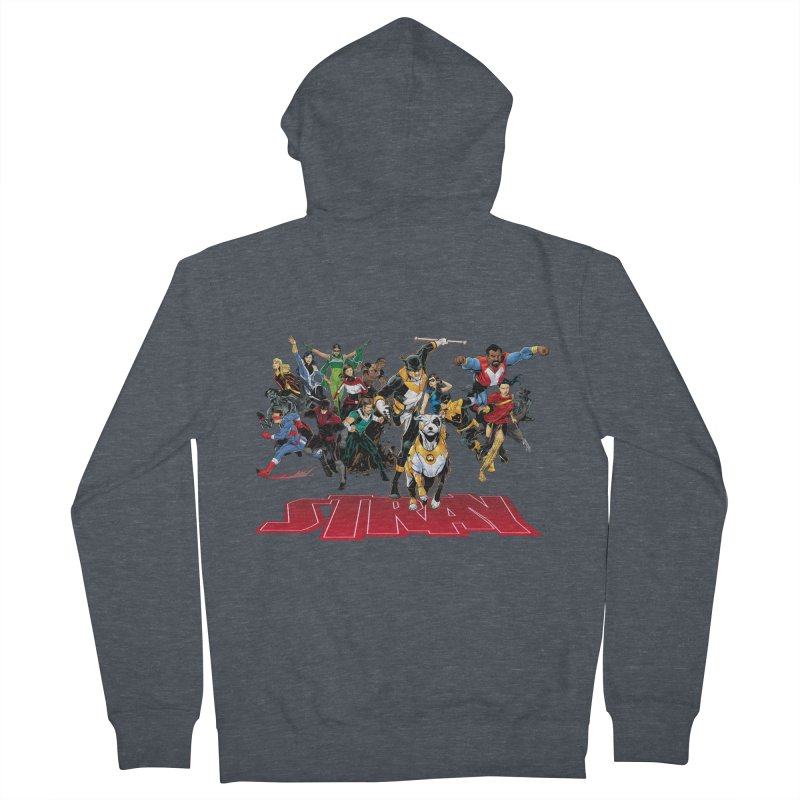 Stray - Heroes Women's Zip-Up Hoody by Delsante & Izaakse's STRAY Comic
