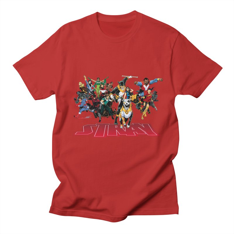 Stray - Heroes Men's T-shirt by Delsante & Izaakse's STRAY Comic