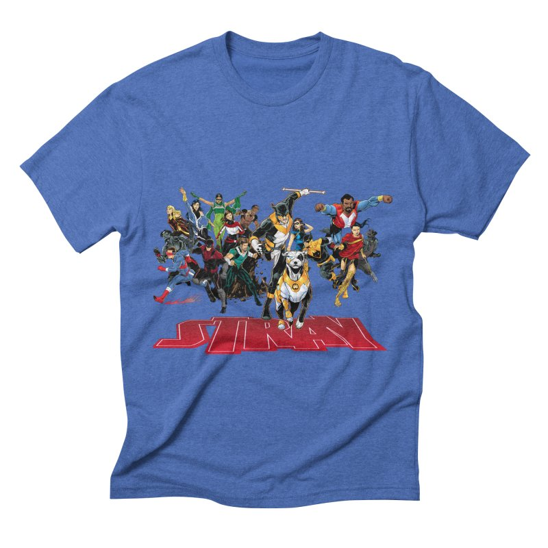 Stray - Heroes Men's Triblend T-shirt by Delsante & Izaakse's STRAY Comic