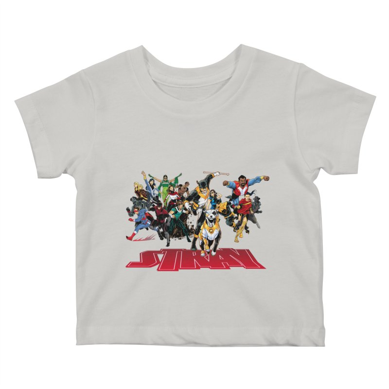 Stray - Heroes Kids Baby T-Shirt by Delsante & Izaakse's STRAY Comic