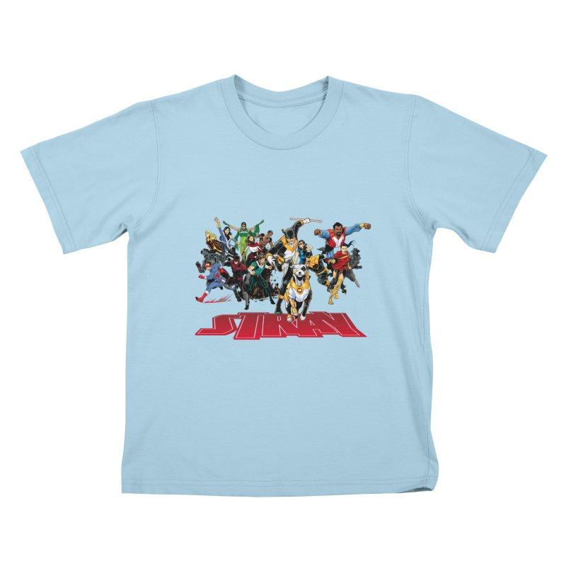 Stray - Heroes Kids T-shirt by Delsante & Izaakse's STRAY Comic