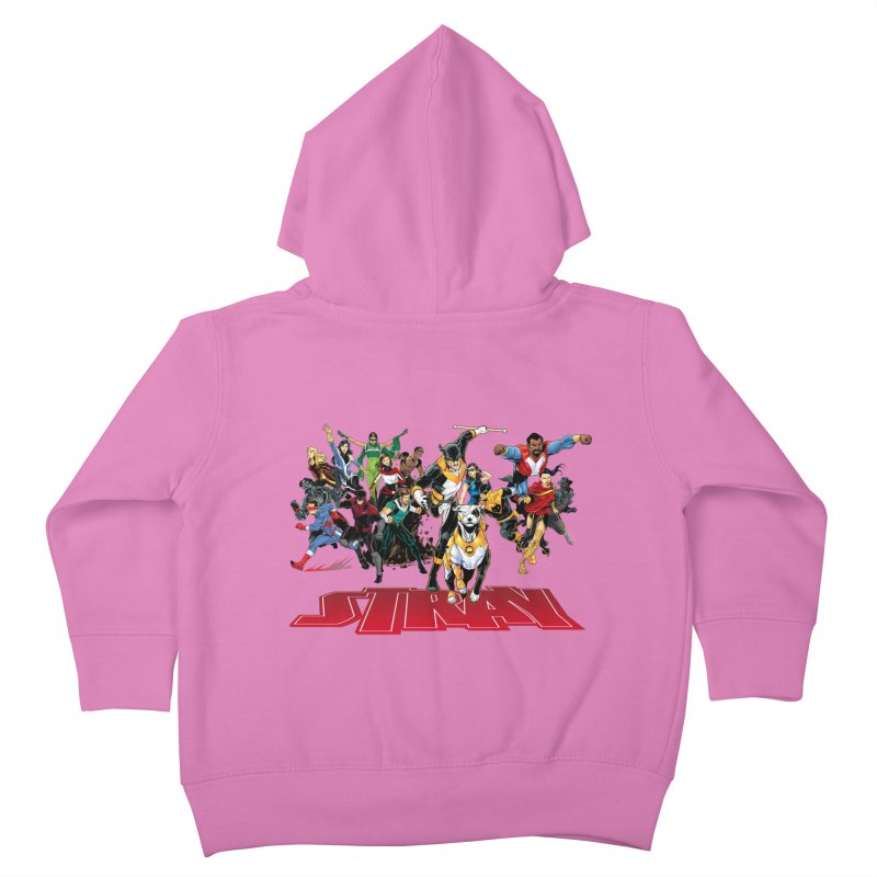Stray - Heroes Kids Toddler Zip-Up Hoody by Delsante & Izaakse's STRAY Comic