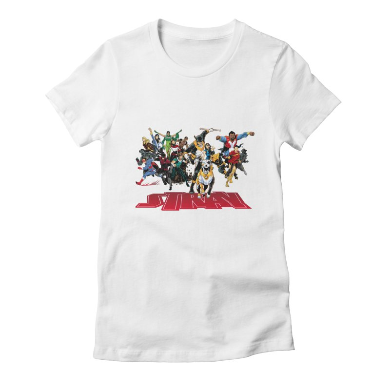 Stray - Heroes Women's Fitted T-Shirt by Delsante & Izaakse's STRAY Comic