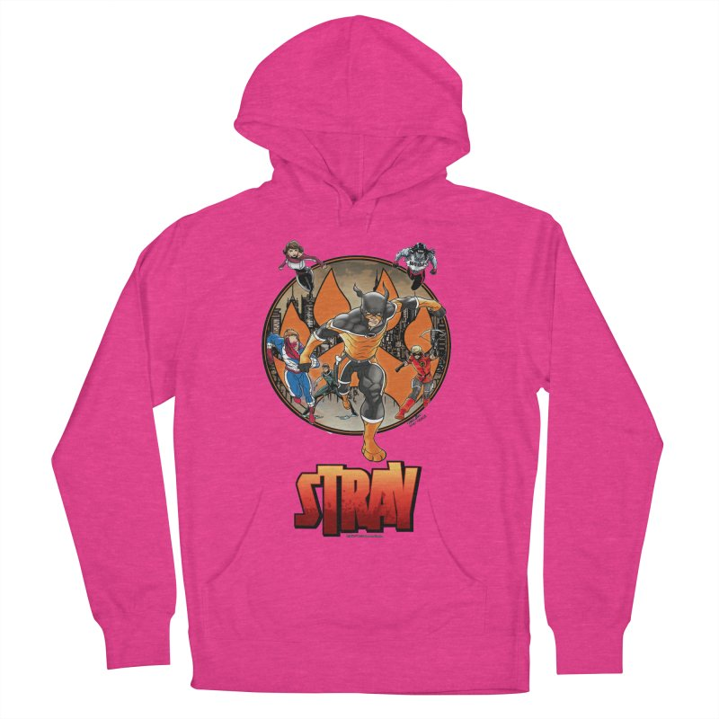 Back In The Day Women's Pullover Hoody by Delsante & Izaakse's STRAY Comic