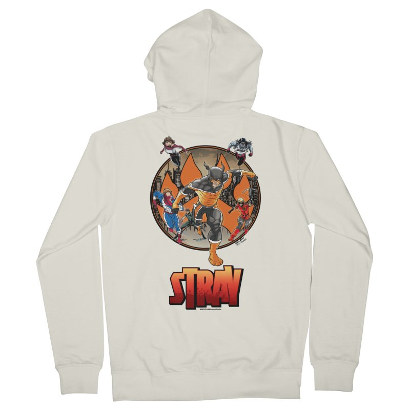 Back In The Day Women's Zip-Up Hoody by Delsante & Izaakse's STRAY Comic