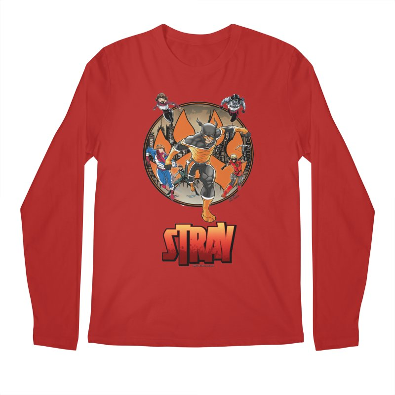 Back In The Day Men's Longsleeve T-Shirt by Delsante & Izaakse's STRAY Comic