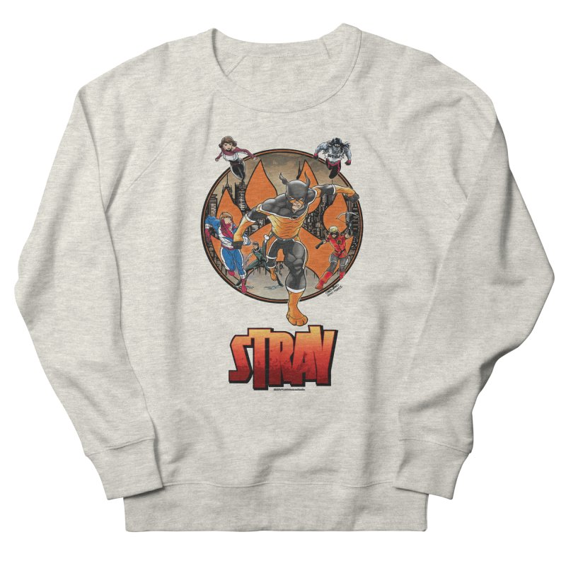 Back In The Day Men's Sweatshirt by Delsante & Izaakse's STRAY Comic