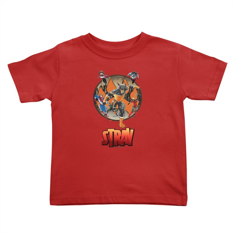 Back In The Day Kids Toddler T-Shirt by Delsante & Izaakse's STRAY Comic