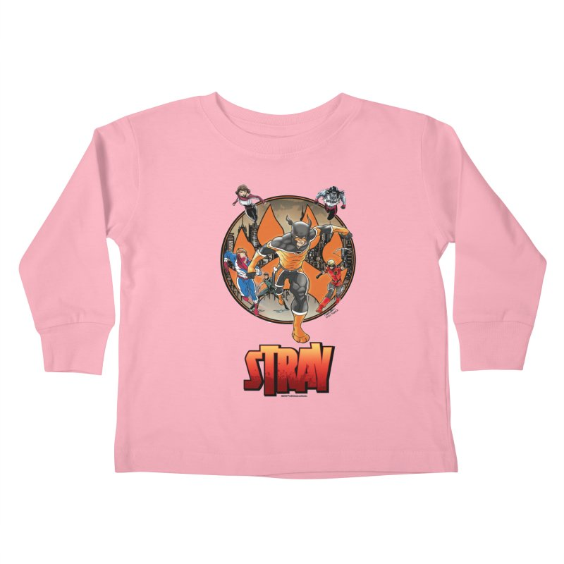 Back In The Day Kids Toddler Longsleeve T-Shirt by Delsante & Izaakse's STRAY Comic