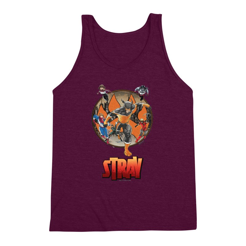 Back In The Day Men's Triblend Tank by Delsante & Izaakse's STRAY Comic