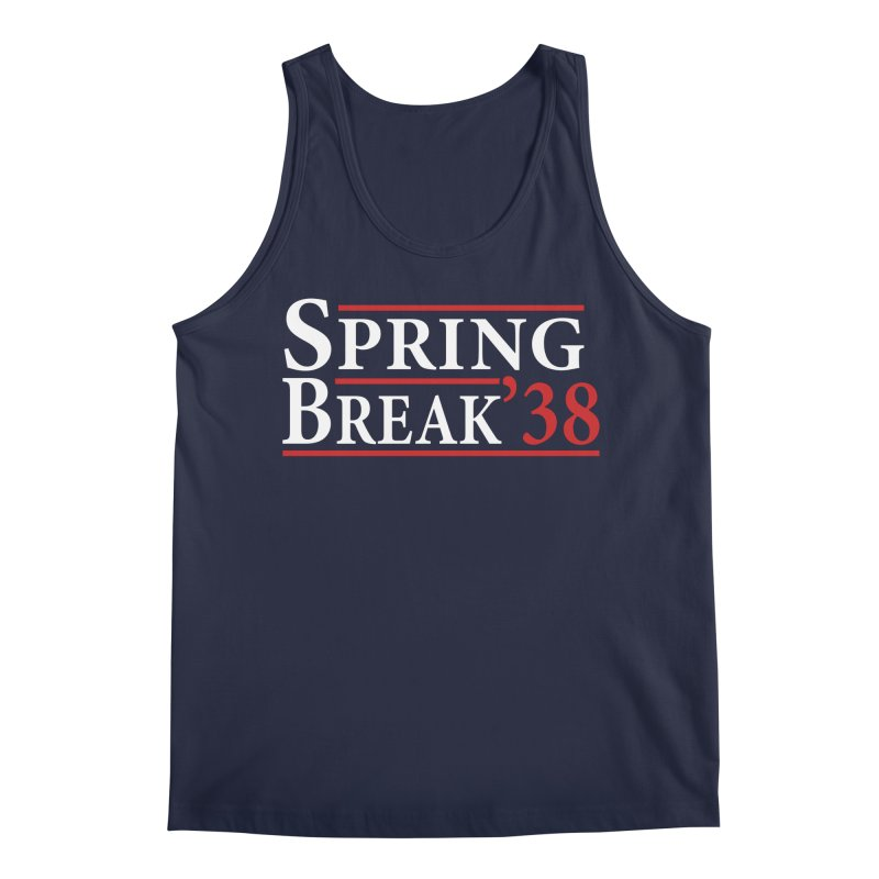 The Birth of Spring Break Men's Tank by StudentEscape's Goods