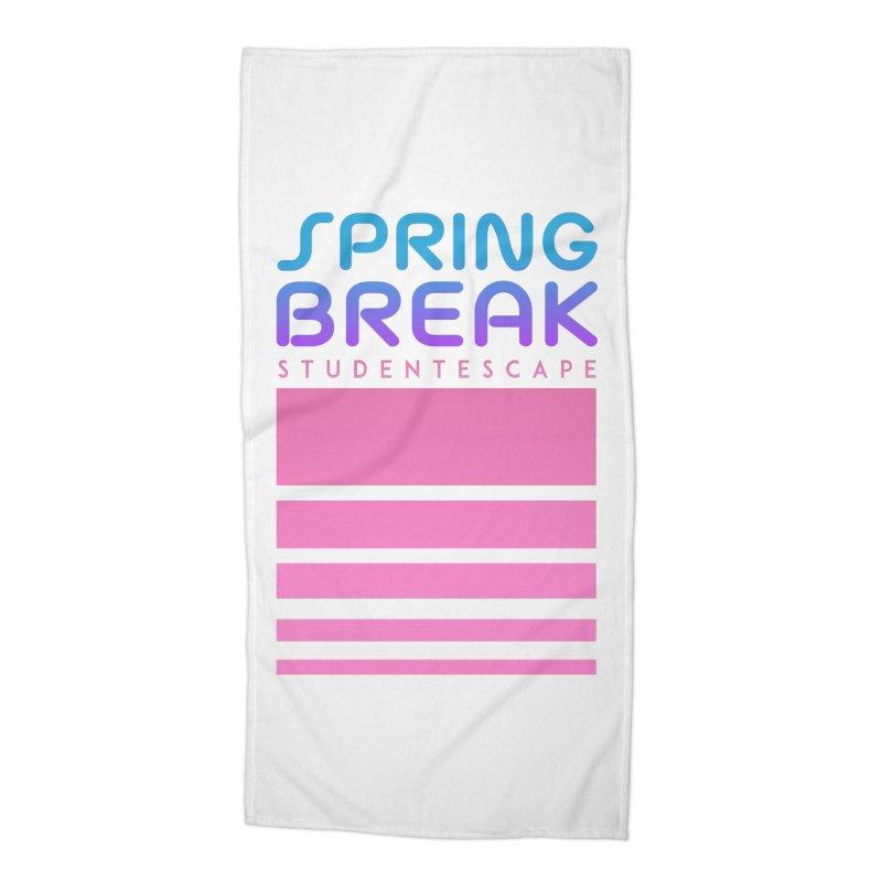 R.E.T.R.O. Accessories Beach Towel by StudentEscape's Goods