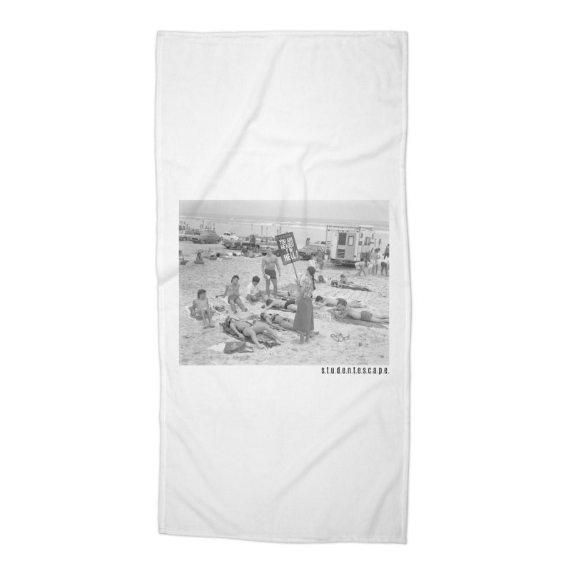 80's Finest Accessories Beach Towel by StudentEscape's Goods