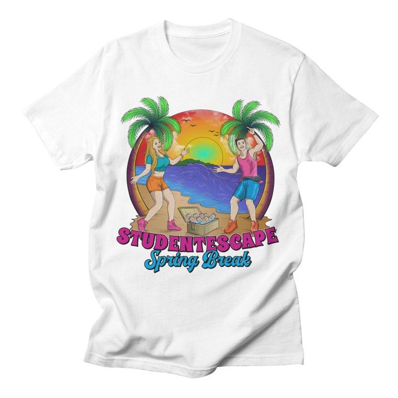 Spring Break Souvenir Men's T-Shirt by StudentEscape's Goods