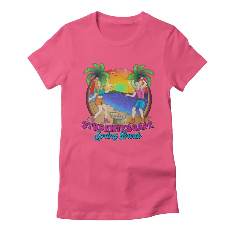 Spring Break Souvenir Women's T-Shirt by StudentEscape's Goods