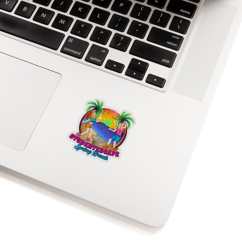 Spring Break Souvenir Accessories Sticker by StudentEscape's Goods