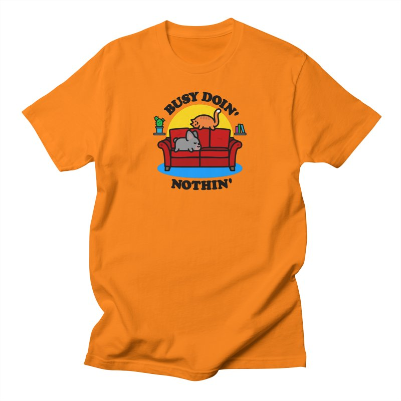 Busy Doin' Nothin' Women's T-Shirt by StudioDelme