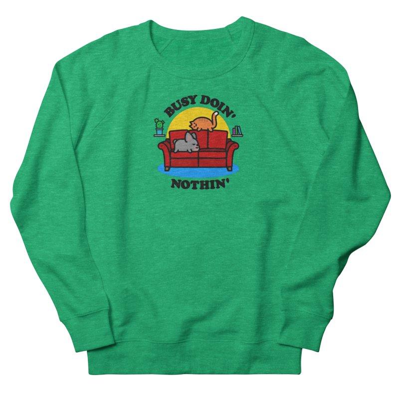 Busy Doin' Nothin' Women's Sweatshirt by StudioDelme