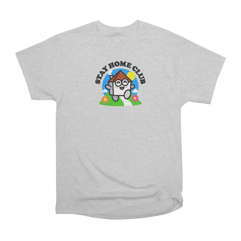Stay Home Club Men's T-Shirt by StudioDelme