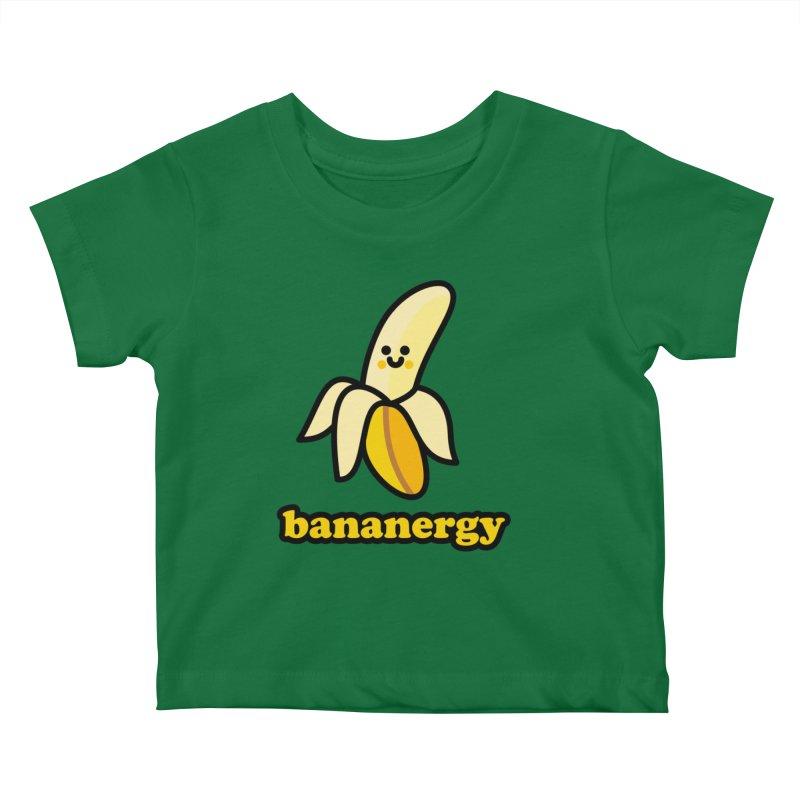 Bananergy! Kids Baby T-Shirt by StudioDelme
