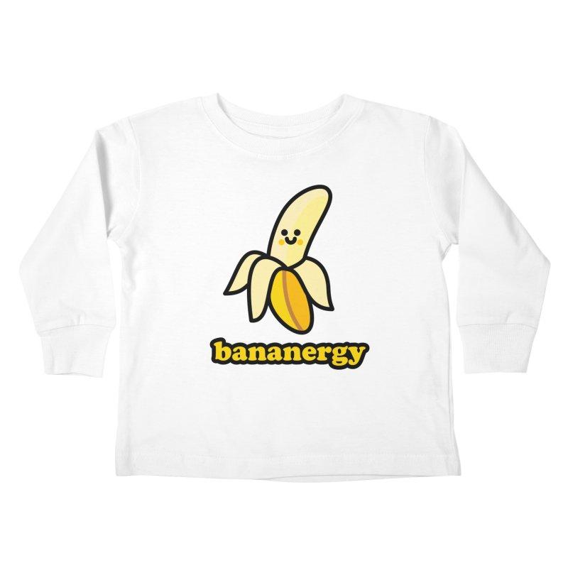 Bananergy! Kids Toddler Longsleeve T-Shirt by StudioDelme