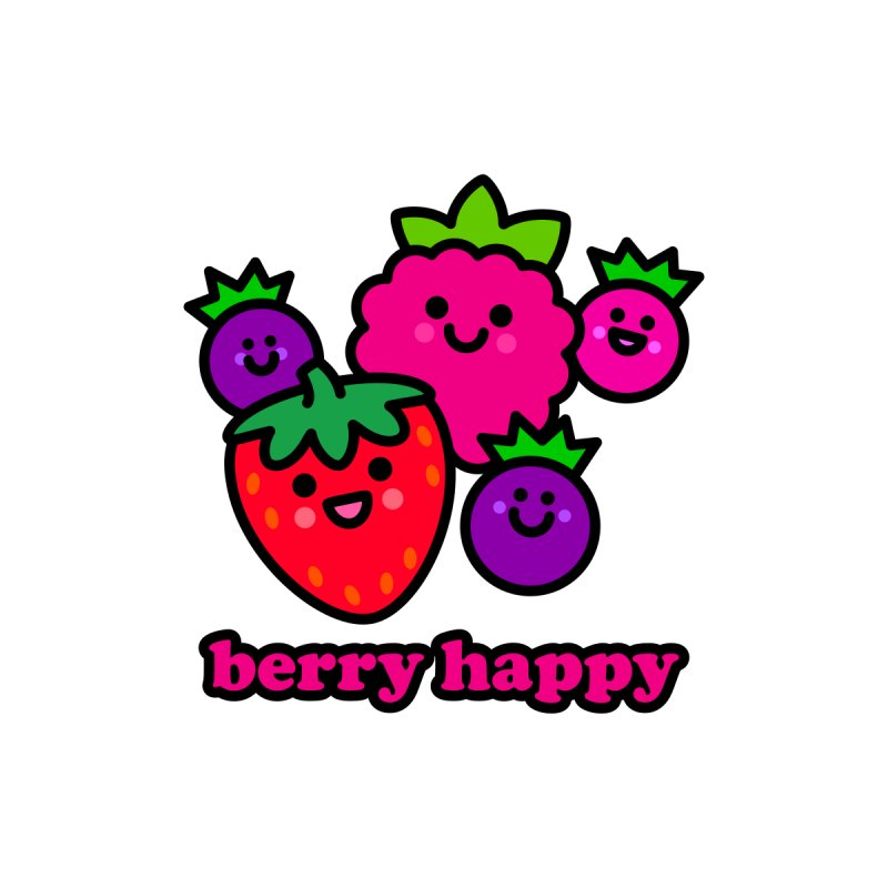 Berry Happy! Women's Tank by StudioDelme