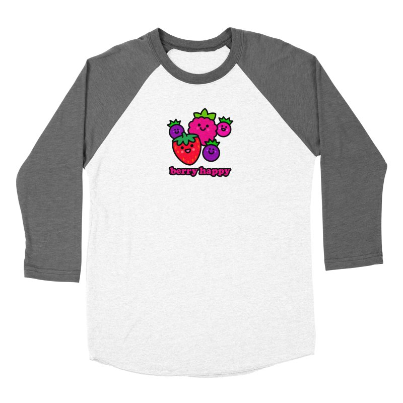Berry Happy! Women's Longsleeve T-Shirt by StudioDelme