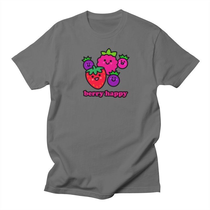 Berry Happy! Men's T-Shirt by StudioDelme