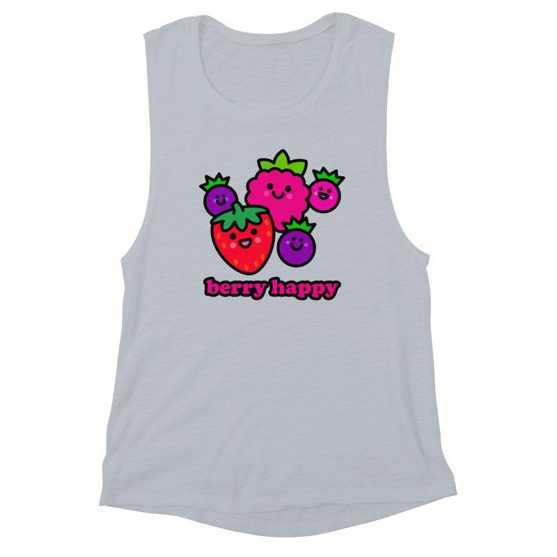 Berry Happy! Women's Tank by StudioDelme