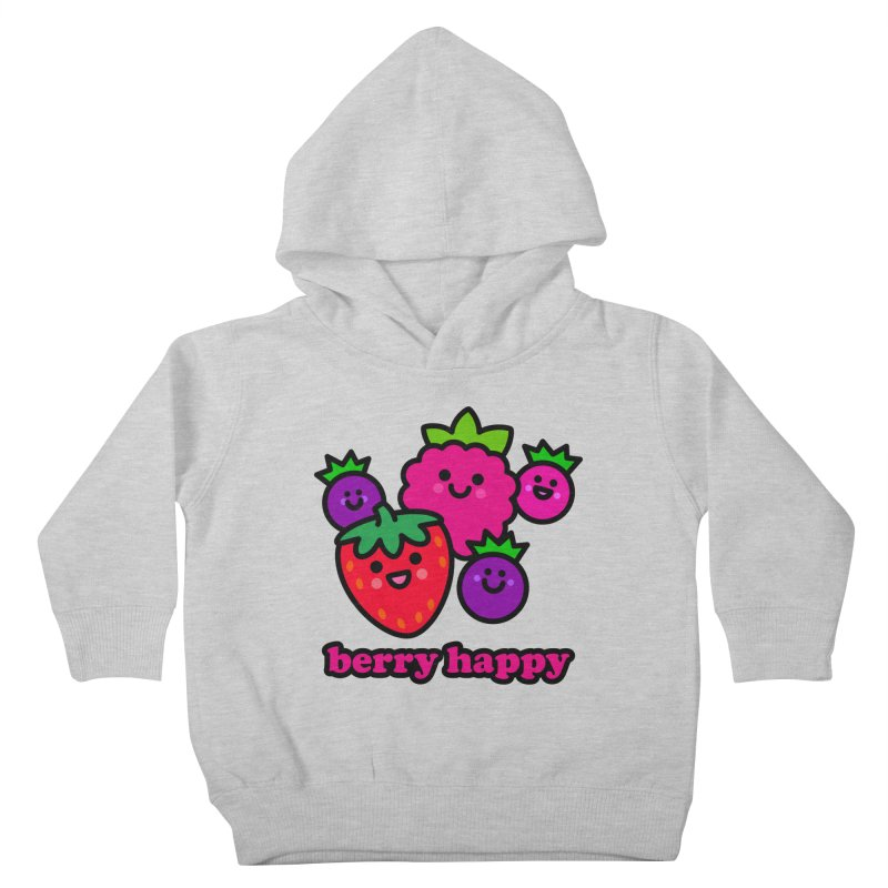 Berry Happy! Kids Toddler Pullover Hoody by StudioDelme
