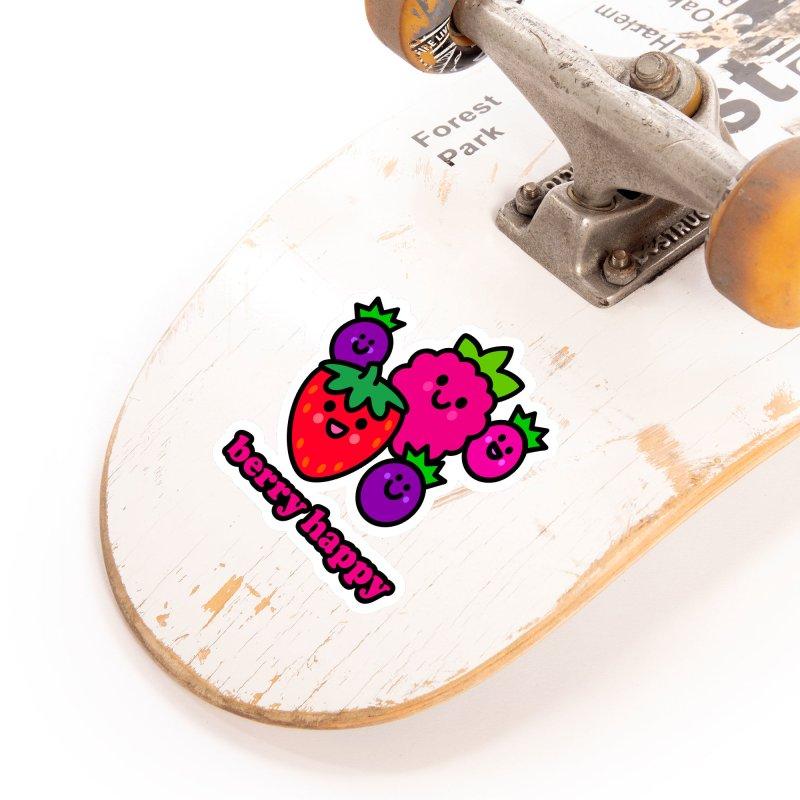 Berry Happy! Accessories Sticker by StudioDelme