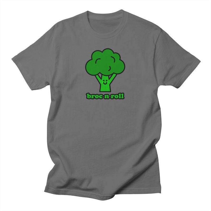 Broc n roll! Men's T-Shirt by StudioDelme