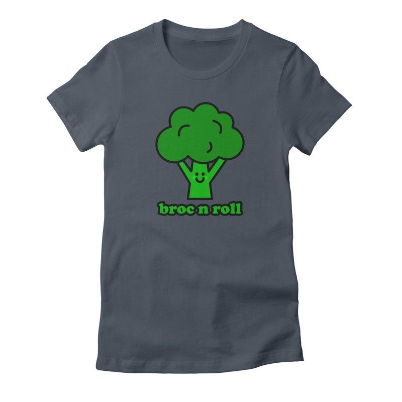 Broc n roll! Women's T-Shirt by StudioDelme