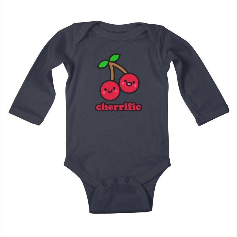 Cherrific! Kids Baby Longsleeve Bodysuit by StudioDelme