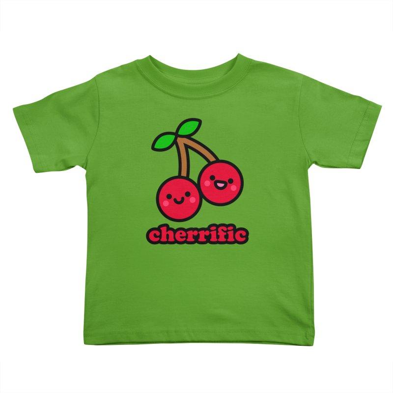 Cherrific! Kids Toddler T-Shirt by StudioDelme