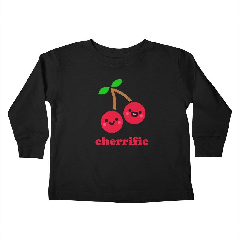 Cherrific! Kids Toddler Longsleeve T-Shirt by StudioDelme